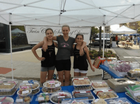 Dancers at 2015 Bake Sale