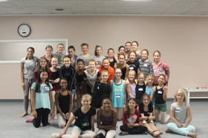 A great group of dancers.