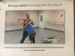 Honored to be part of Dancing with the Stars!