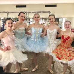 Ballet company dancers ready for Cinderella