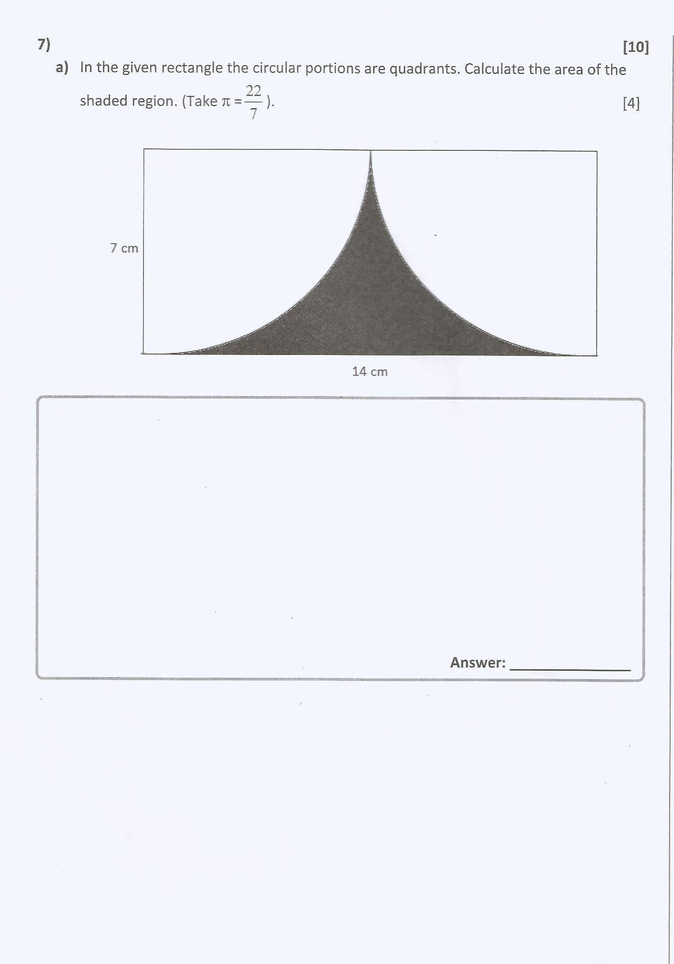 Mathematics Past Paper (Grade