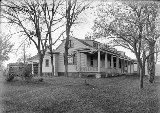 The Hermitage in 1903; courtesy Indiana Historical Society
