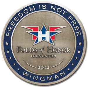 Folds of Honor Wingman Coin