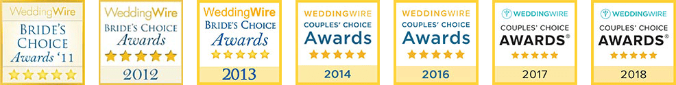 Wedding Wire Couples Choice 2011 to 2014 and 2016 to 2018 - Home