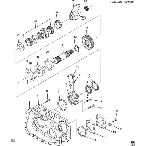 eaton fuller transmission diagram fuel injector wiring parts