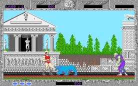 Altered Beast VGA in-game