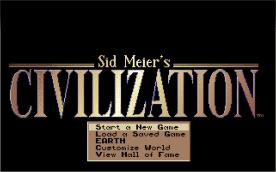 Civilization VGA title