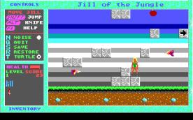 Jill of the Jungle EGA in-game
