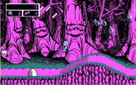 Commander Keen 4 CGA in-game