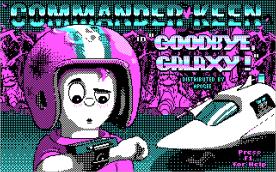 Commander Keen 4 CGA title