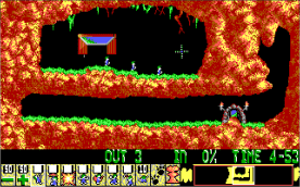 Lemmings EGA level 1