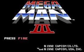 Mega Man III EGA title