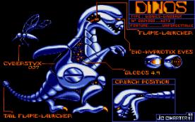 Metal Mutant VGA cut scene