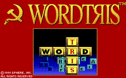 Wordtris EGA title