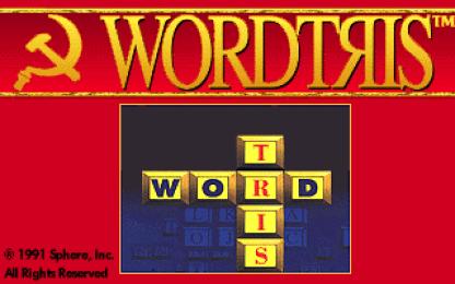 Wordtris VGA title