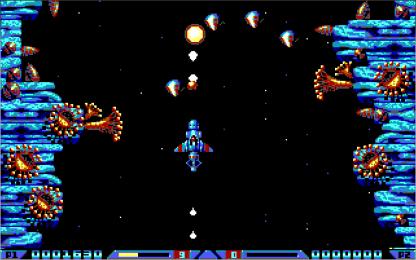 Xenon 2 EGA in-game