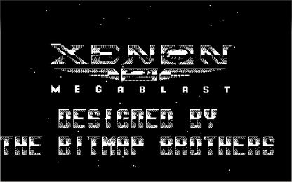 Xenon 2 CGA title