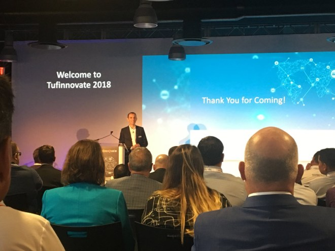 Welcome to Tufinnovate 2018. Thank you for coming!