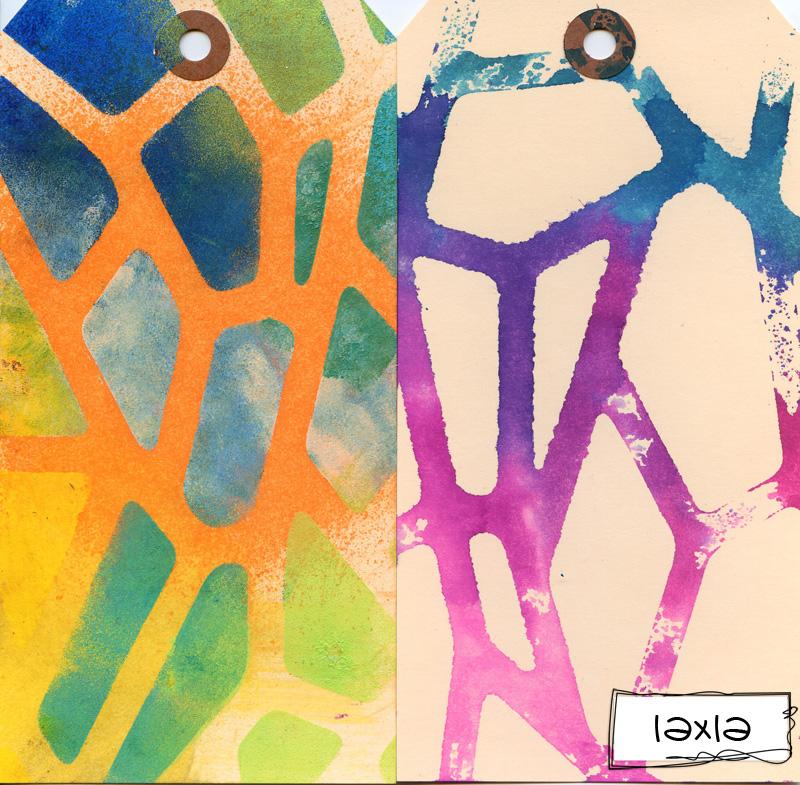 Ronda Palazzari Giraffe Print 12x12