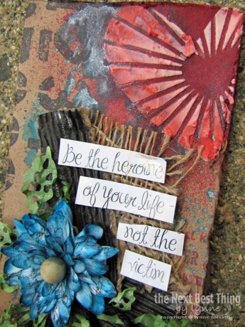Be The Heroine by Lynne Forsythe