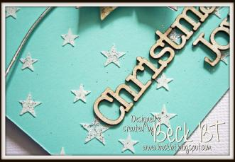 Christmas Joy card detail 1