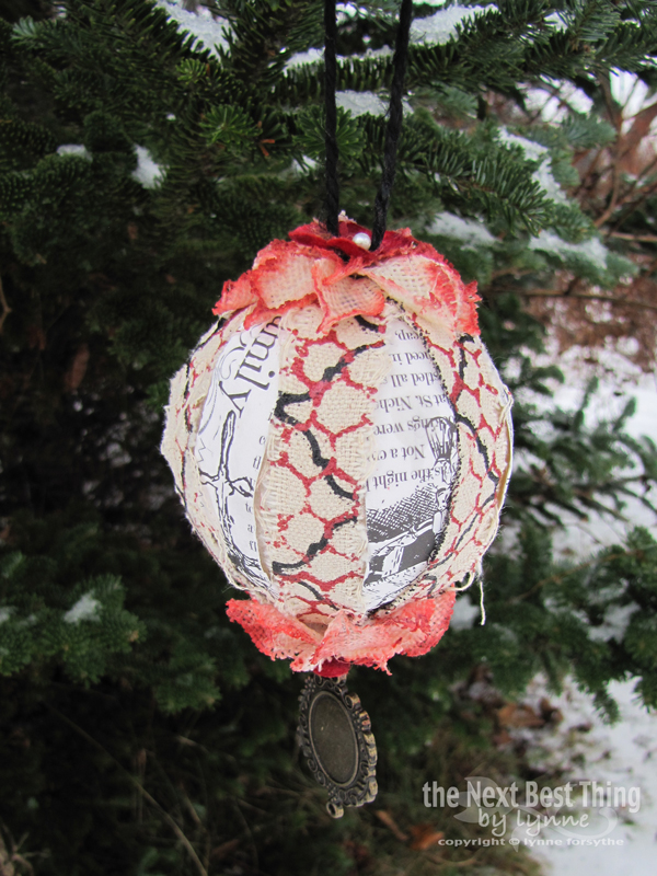 Homemade Ornaments by Lynne Forsythe