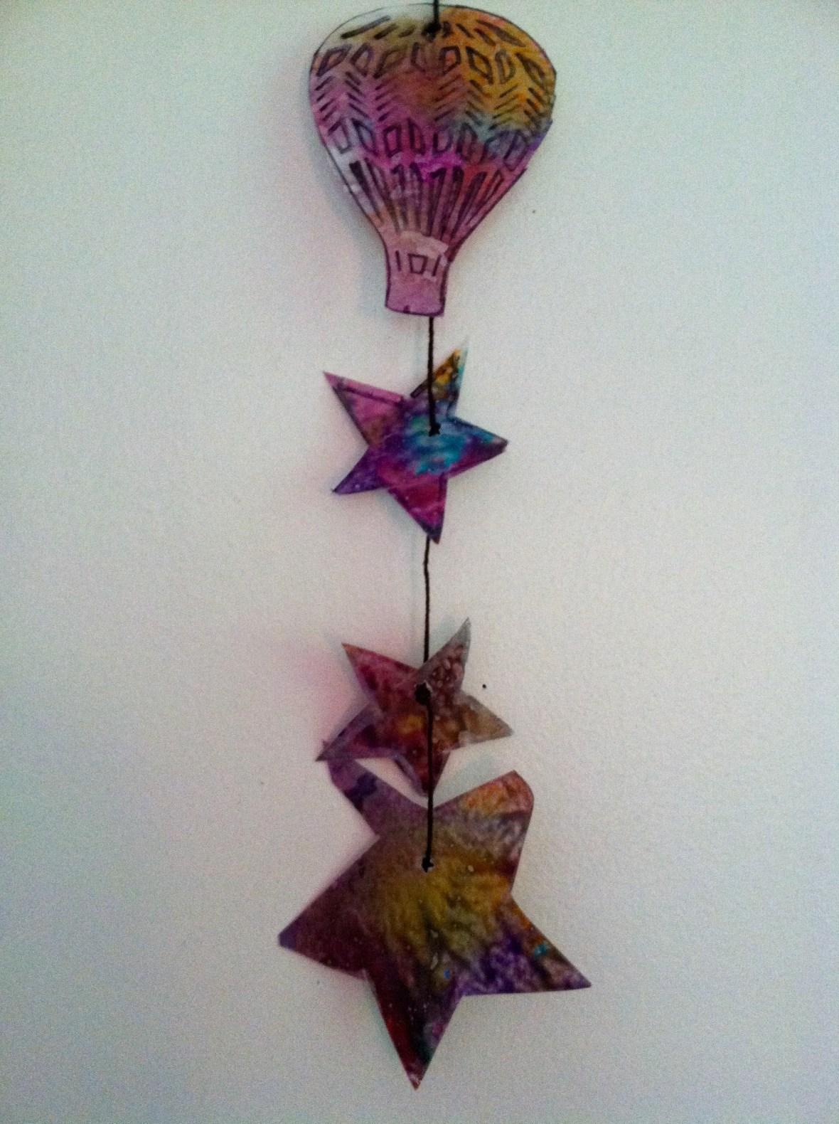 Close up balloon + Stars
