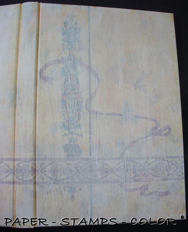 TCW boek blauwbruin crackle stencil vlinder (2)