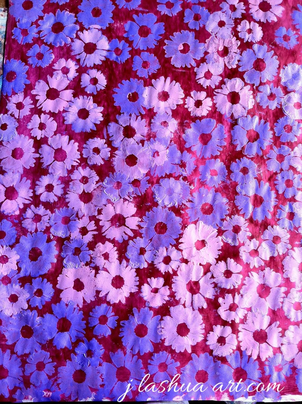*w Layered flowers-1