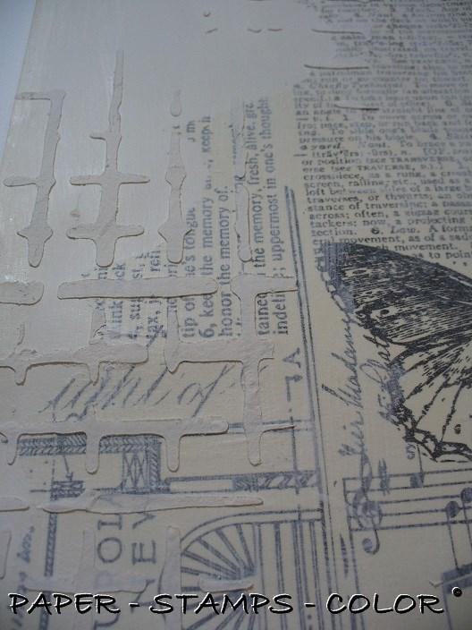Art Journal Artofthe5th week20 texture modelling paste (3)