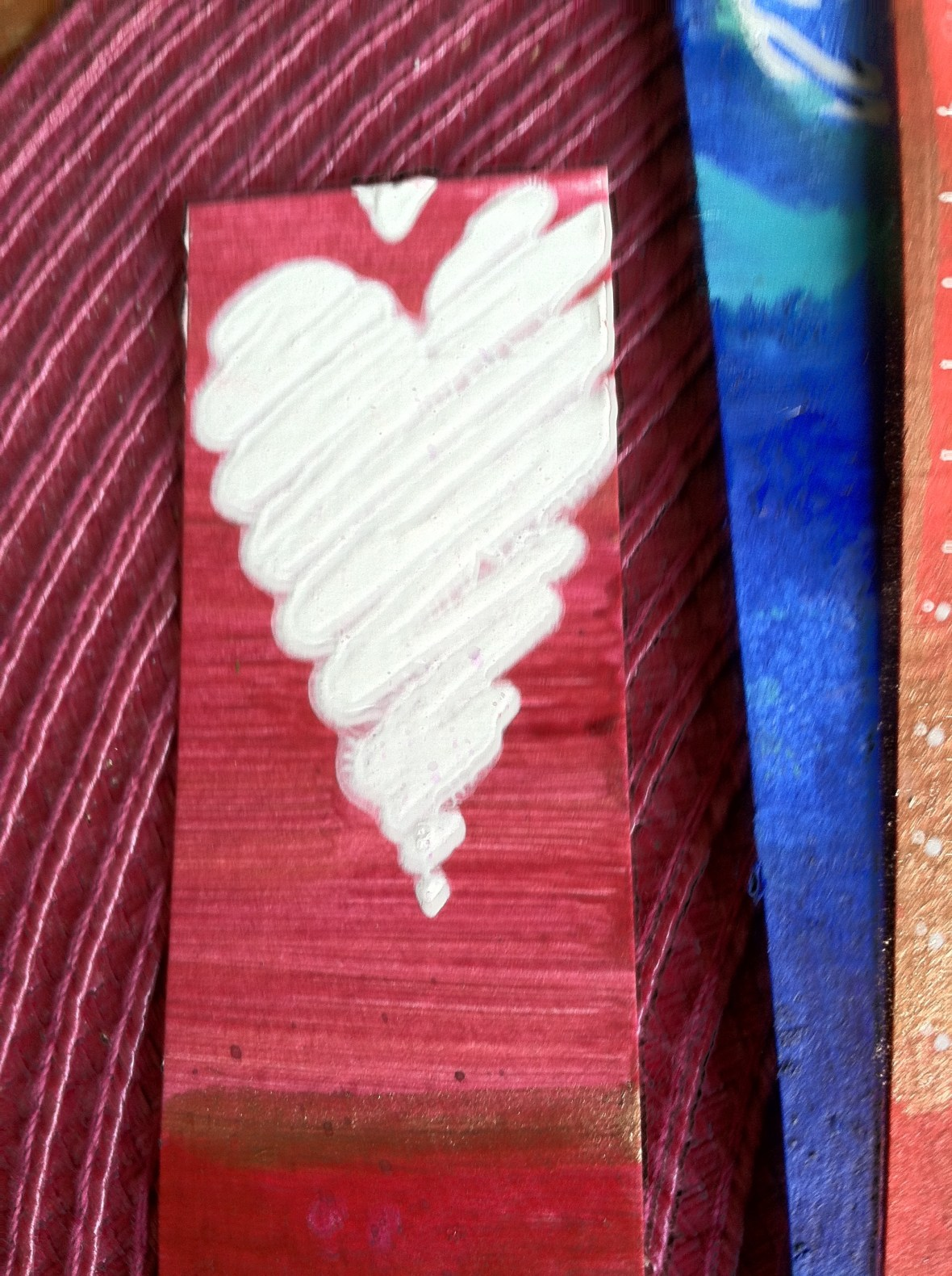 Gesso heart