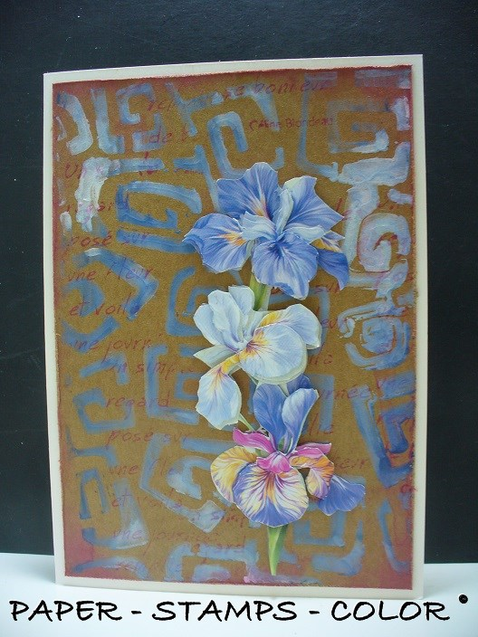 blauwbruin monoprint collage (2)