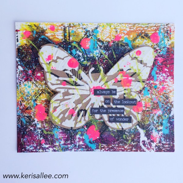 Keri Sallee The Crafter's Workshop Butterfly