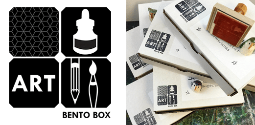 Art Bento Box logo and Boxes
