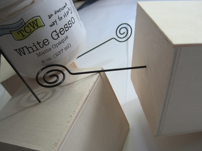 TCW white gesso and photo cubes Lefko