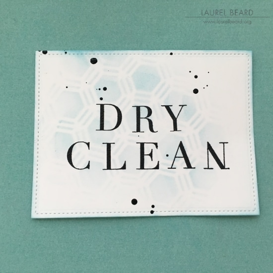 Laundry Tags with Laurel Beard 3