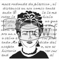 Frida TCW stencil TCW646