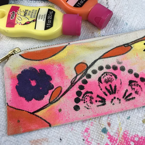Add additional colors to your pouch