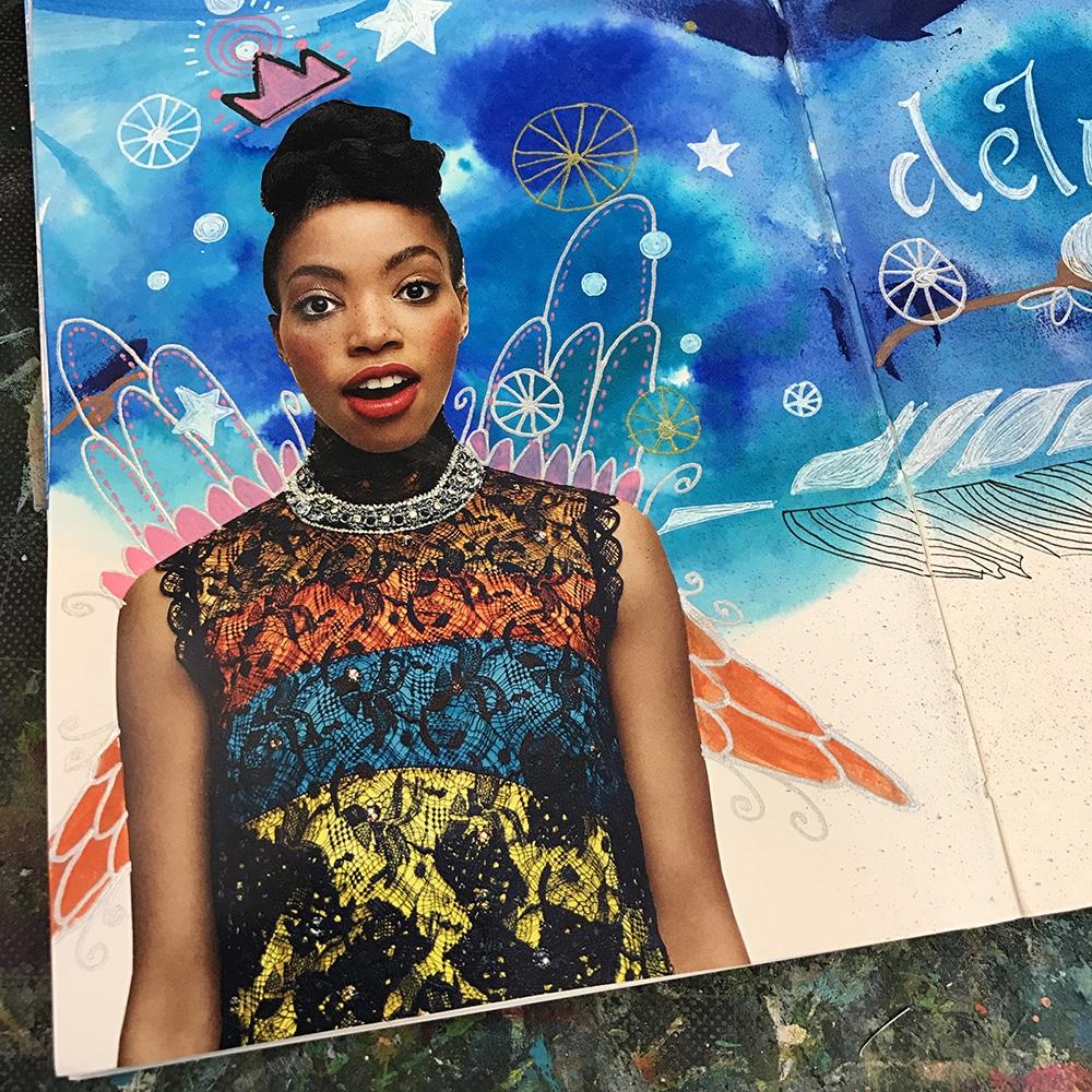 Art Journal Detail Shot