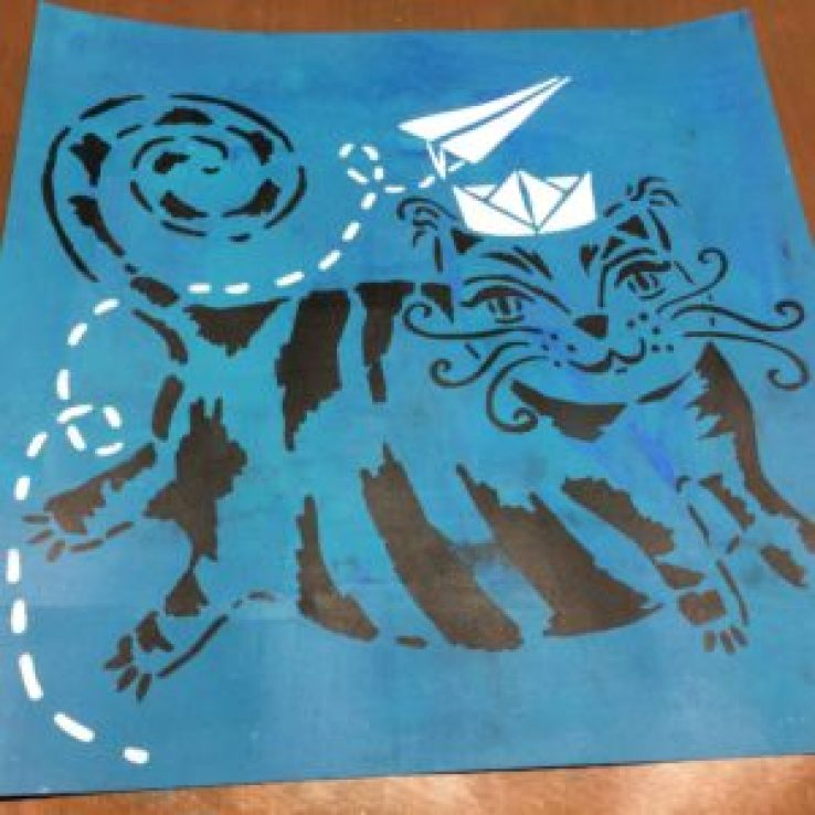 THE Crafter's Workshop : Flying Cat - by ART BY MARLENE photo 4