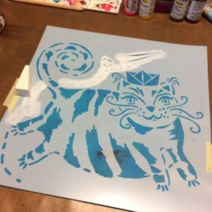 THE Crafter's Workshop : Flying Cat - by ART BY MARLENE photo 2