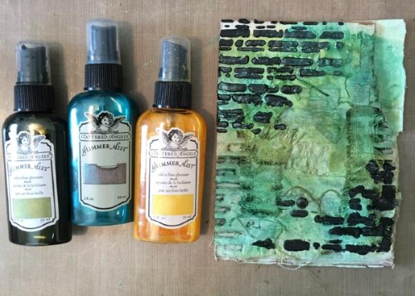 Kim Schofield, Corrugated Cardboard, Misted Background, TCW707