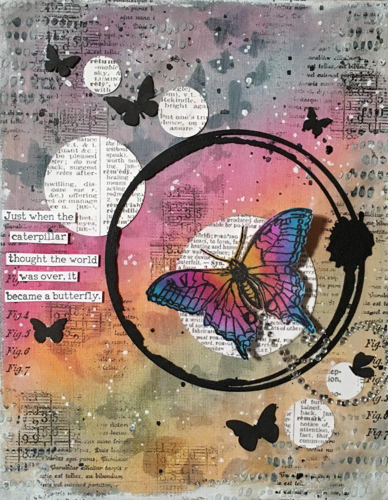 Kim Schofield, Butterfly Trail, Canvas