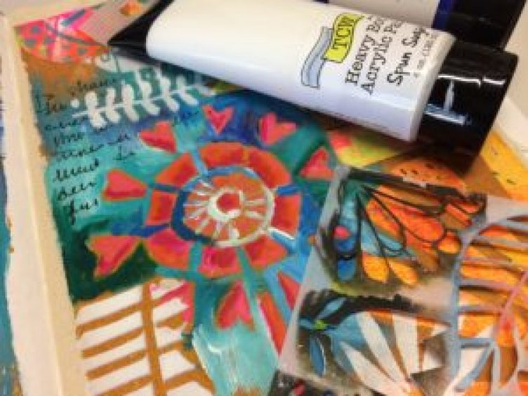 The Crafter's Workshop- stencils and mediums by Art By Marlene