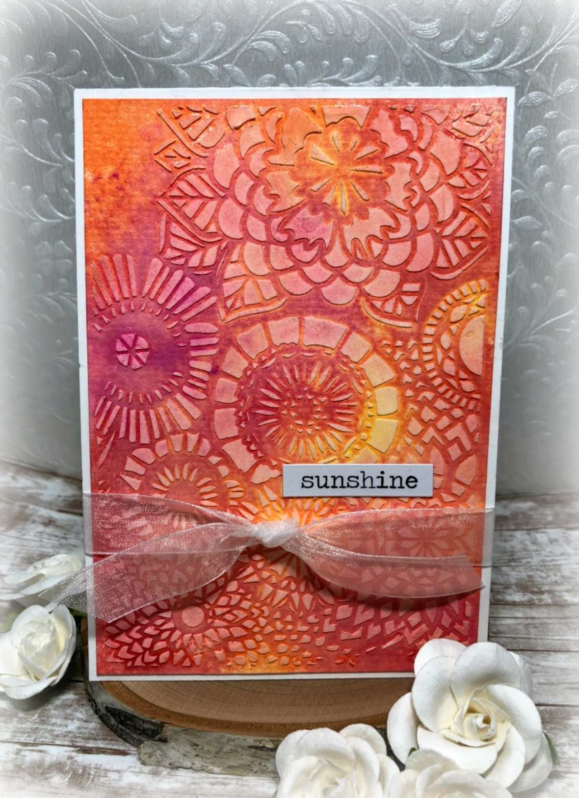Sushine and Wallflowers card