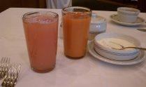 jugo de toronja y zanahoria, El Cardenal