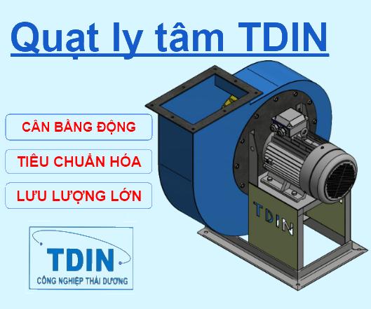 Quạt ly tâm TDIN DE150 1,5kW