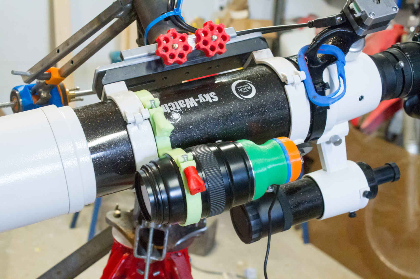 Guided Telescope Mount & Accessories (Tracker V3) #DIY