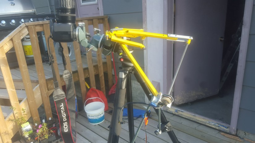 DIY Camera Astrotracking Mount