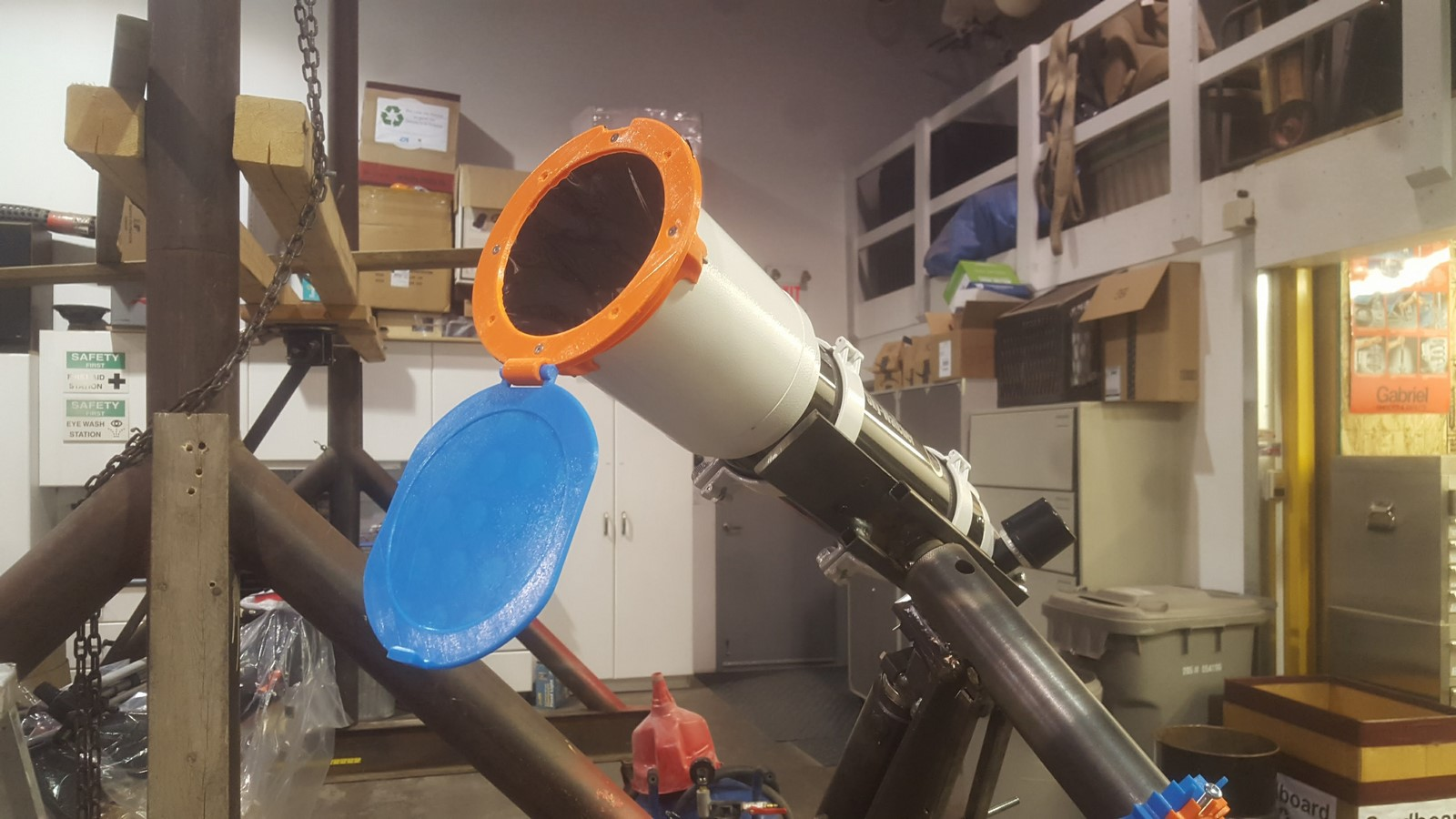 3D Printed Solar Filter for Telescope